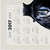 Engaged, 2017 tea towel calendar: Monday week starts