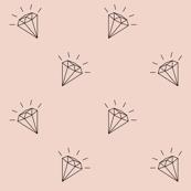 Diamonds pink