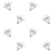 Diamonds white