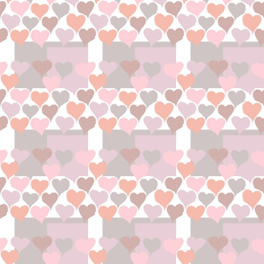 Crinkle Hearts - Small