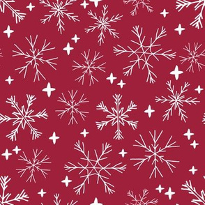 winter snowflakes // winter fabric cute christmas snowflake design best christmas holiday fabric cute snowflake fabric andrea lauren fabric