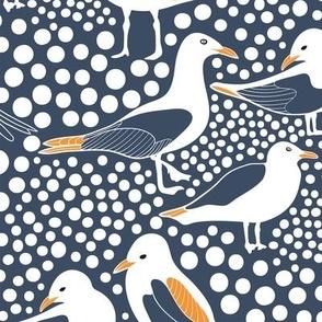 Sea Birds Navy
