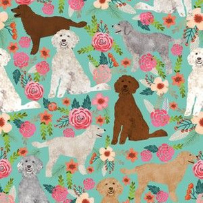 golden doodles fabric cute dog floral fabric cute golden doodle colors design best golden doodles fabric