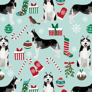 husky christmas fabric cute husky design best husky fabrics siberian huskies cute dogs