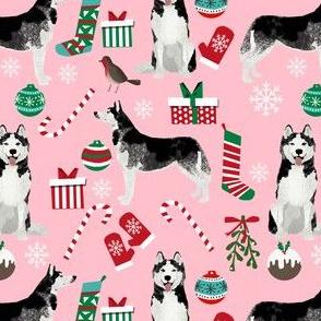 husky christmas dog fabric cute siberian husky print cute dog christmas design best dogs fabric cute dogs