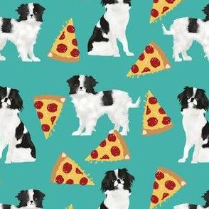 japanese chin dog pizza fabric cute japanese toy breed dog fabric cute dogs fabric funny pizza fabric