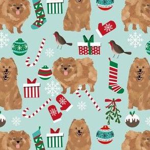 pomeranian christmas fabric cute pomeranian dog design cute dogs best toy dogs christmas fabric cute dog