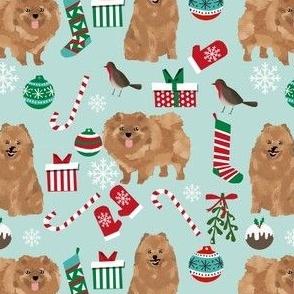 pomeranian dog fabric cute pom dog christmas fabrics best pets fabrics