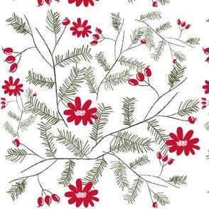 Christmas Floral - Christmas Tree