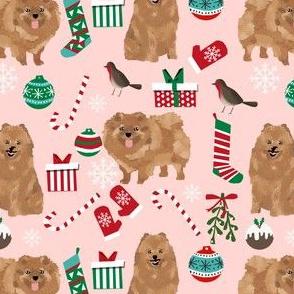 pomeranian dog fabric cute pom design best christmas fabrics cute pomeranian dogs