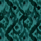Ikat-Diamonds_teal