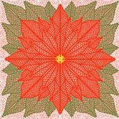 Poinsettia Lace