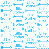 little-brother-with-arrow blue
