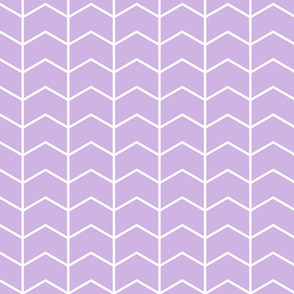 chevron lilac || the lilac grove collection