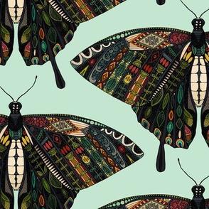 swallowtail butterfly mint