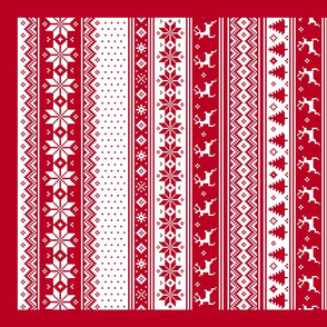 Tea Towel Nordic Christmas