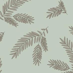 PineSprig - Seaspray & Mushroom 6x6-300dpi
