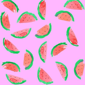 watermelon red neon purple