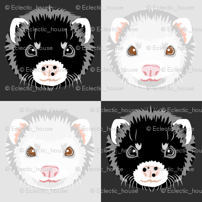 Rblack_and_white_ferret_checkerboard_preview