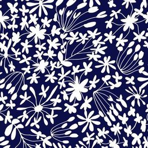 Flower Whisper Blue