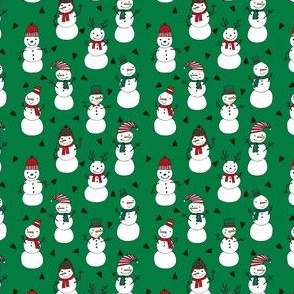 snowman // red and green christmas snowman fabric cute snowman design andrea lauren fabrics andrea lauren design xmas holiday fabrics for gifts and sewing