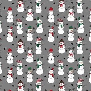 snowman // snowmen christmas fabric cute illustrated holiday designs andrea lauren fabric design andrea lauren fabrics cute xmas holiday