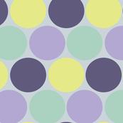 Muted Polka Dots
