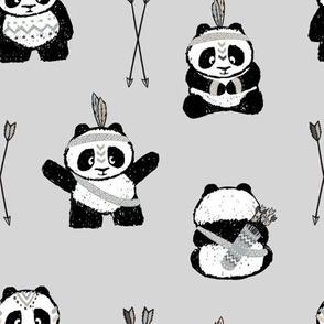 pandas w/ arrows (neutral) || pandamonium