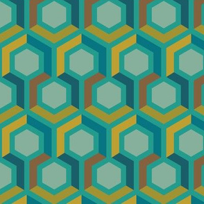 Hexagon Geometric