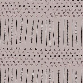 Mudcloth Stripes Dust