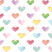 hearts colored