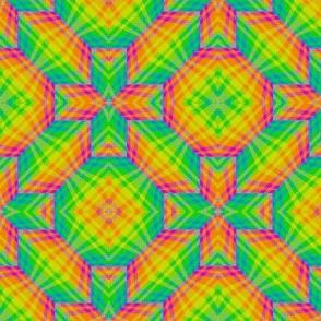 Zigzag 3D Plaid 02