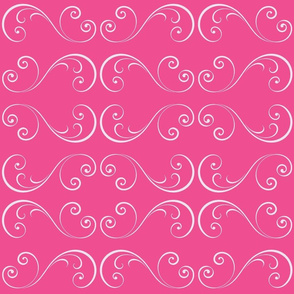Flamingo Swirls