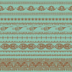 Moroccan Lace_Dark Mint