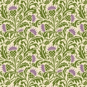 Thistle, dark green