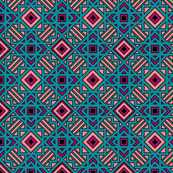 Boho Tribal  Geometric
