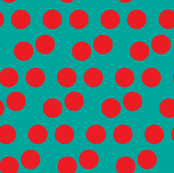 Red & Green Christmas Polka Dots