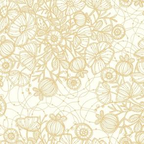 Wildflowers in Lace, Linen - ©Lucinda Wei