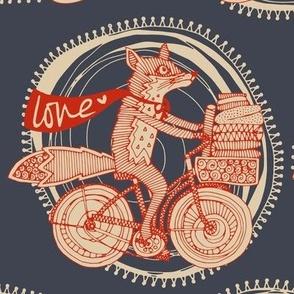 foxy fabric love