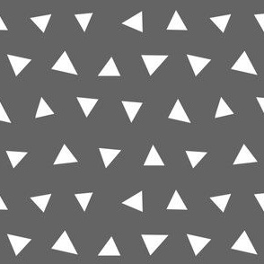 charcoal triangles, triangle, triangle fabrics baby nursery design coordinating fabric