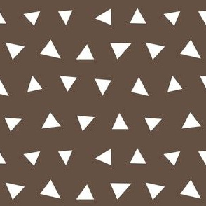 brown triangles, triangle, triangle fabrics baby nursery design coordinating fabric