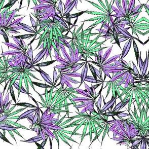 Pretty Pot Leaf Pattern