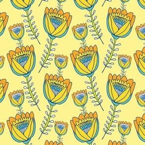 Tropical Tulips Yellow