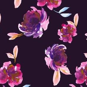 Royal Plum in Dark Violet