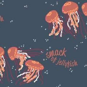 SMACK of jellyfish [mauve]