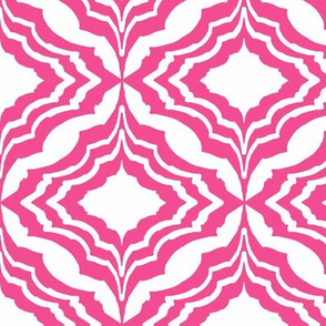 Moroccan Ogee Pink