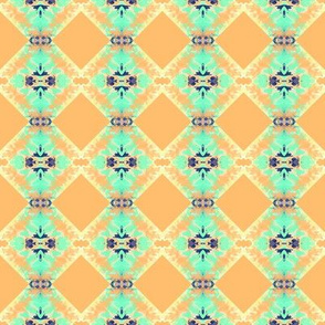 Bluegreen Adobe Squares