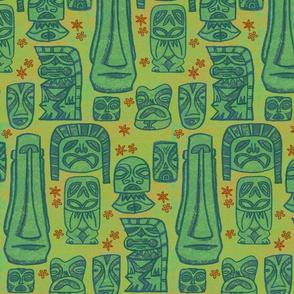 Tiki Tribe Green