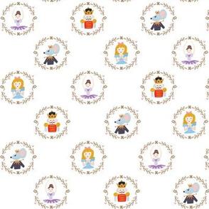 Tiny Nutcracker Characters