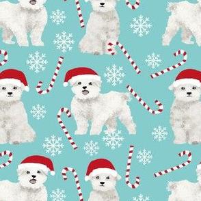 maltese dogs fabric cute xmas holiday christmas fabrics cute peppermint sticks and snowflakes fabric